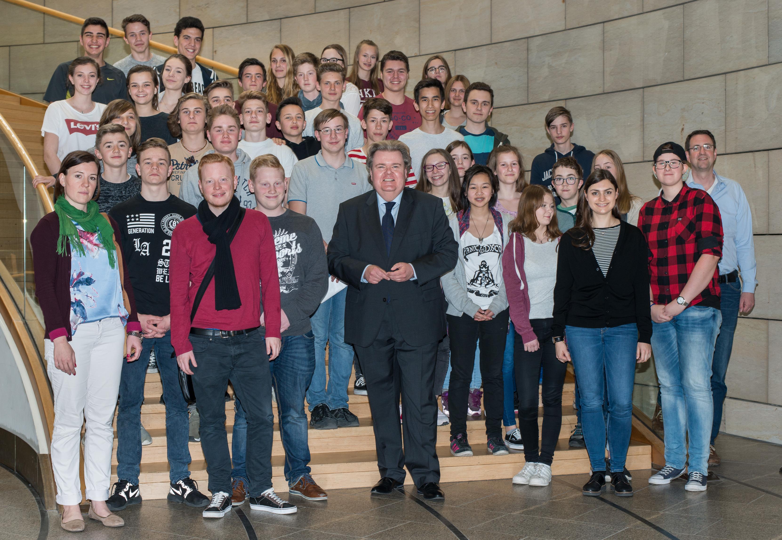 Klaus-Voussem-Landtag-Emil-Fischer-Gymnasium